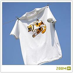 吉田カツ 猫Tシャツ(商品番号:50101)